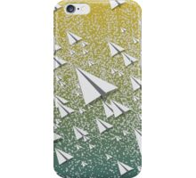 Paper Airplane 109 iPhone Case/Skin