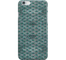 Flying Saucer Grey  iPhone Case/Skin