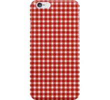 Small Circles- Red iPhone Case/Skin