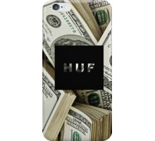 huf money iPhone Case/Skin