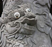 Goofy Eyed Dragon by phil decocco