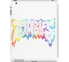 Flatbush Zombies Tie Dye iPad Case/Skin