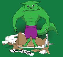 Hulkitten by linesXofXfury