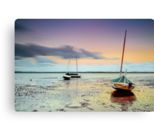Stuck in the Mud - Redland Bay Qld Australia Canvas Print