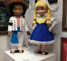 Disney It's A Small World Italy & Sweden Disney Dolls by notheothereye