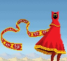 Journey Pixel Art by PXLFLX