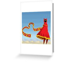Journey Pixel Art Greeting Card