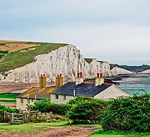 Coastguard Cottages at Seven Sisters #2, Seaford, England by atomov