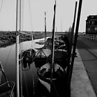 Blakeney Harbour in B&W by TheGolfer