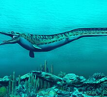 Mosasaurs by Walter Colvin