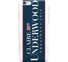 Claire Underwood iPhone Case/Skin