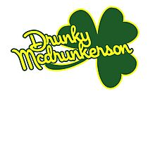 DRUNKY mcdunkerson Photographic Print