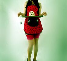 Devil Doll - Spooky Kitchen by EstherJane