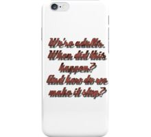 Meredith Grey - Adults iPhone Case/Skin