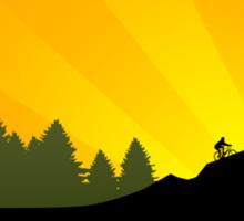 cycling : tribalz Sticker