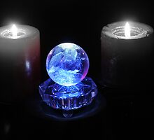 Crystal Ball in Blue by Evita