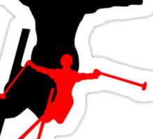 ski shadowstance Sticker