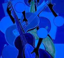 symphony in blue by helene ruiz
