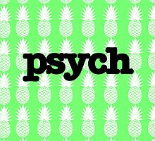 Psych Pineapples by Lauren Carr