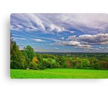 Beautiful English Countryside #2, Redhill, England Canvas Print