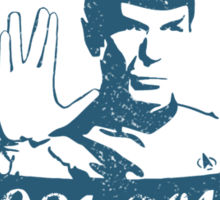 Spock - Leonard Nimoy Sticker