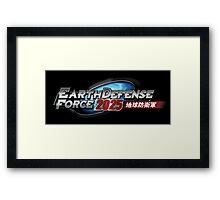 EDF Logo Framed Print