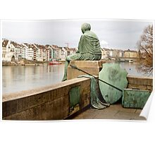 Looking over Basel, Switzerland Poster