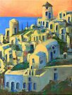 Oia, Santorini by Randy Sprout