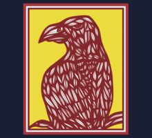 Seegers Eagle Hawk Yellow Red T-Shirt