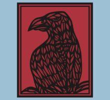 Strehl Eagle Hawk Red Black T-Shirt
