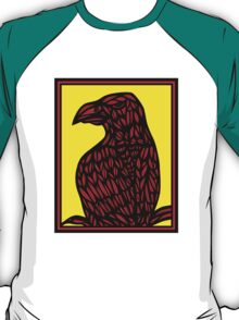 Bethers Eagle Hawk Yellow Red Black T-Shirt