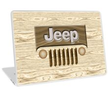 Wooden Jeep Willys [Update] Laptop Skin