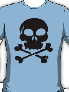SKULL AND CROSSBONES by Zombie Ghetto T-Shirt