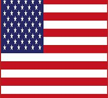 USA Flag, American Style, Stars And Stripes, Super Resolution by O O