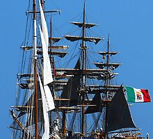 Tall ships  5 by Monica Di Carlo