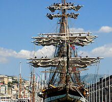 tall ships 6 by Monica Di Carlo