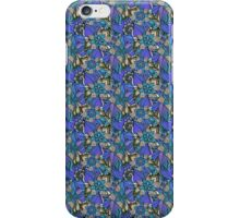 Pattern Flower [Blue] iPhone Case/Skin