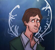 Will Graham Stag Clock by theredheron