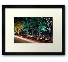 Perth - The City of lights  Framed Print