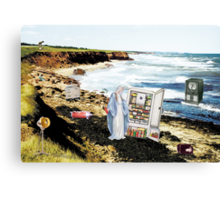 Our Lady of the Frigidaire Canvas Print