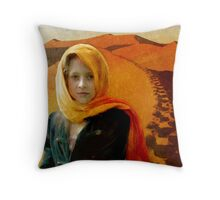 Tea In The Sahara Throw Pillow