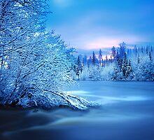 Blue Fairytale by Päivi  Valkonen