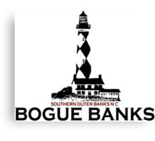 Bogue Banks  - North Carolina. Canvas Print