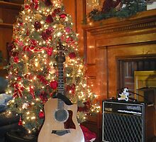 awaiting songs of Christmas by WonderlandGlass