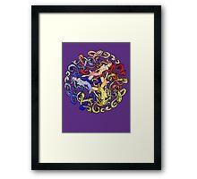 Tripple Goddess Framed Print