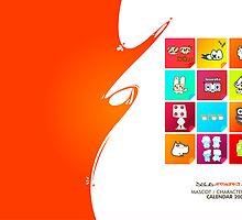 Character Calendar 2009 by dojoartworks