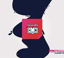 Character Calendar 2009 May by dojoartworks
