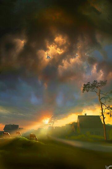 Sun Rays by Igor Zenin