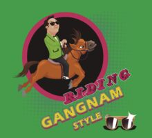 Riding Gangnam Style Kids Clothes