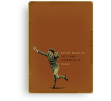 Dalglish Canvas Print